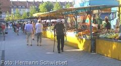 Wochenmarkt in Geestemünde