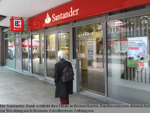 santander bank bremerhaven