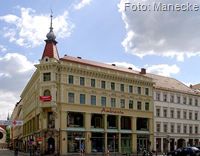 Görlitzer Eckhaus Obermarkt 7 - Steinstraße   Foto: wikipedia-Manecke