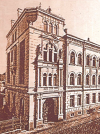 Wohnhaus Ephraim, Jakobstraße 5, um 1900
