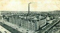 Die Kofferfabrik von Julius Arnade in Moys (Ujazd) ist stillgelegt