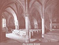 Die heutige Krypta in der Görlitzer Peterskirche