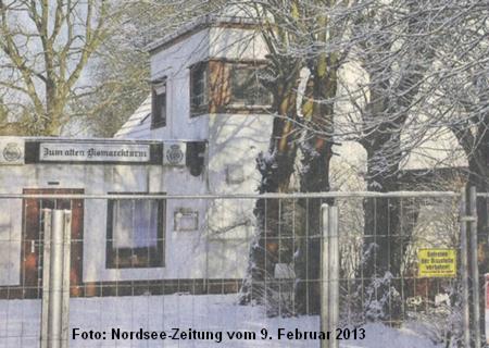 """Gaststätte """"Zum alten Bismarckturm"""" in Bremerhaven"""