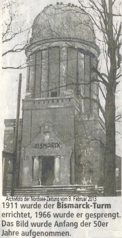 Bismarckturm in Bremerhaven