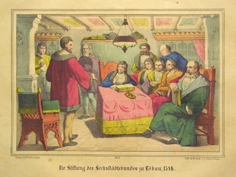 Die Stiftung des Sechsstädtebundes zu Löbau 1346