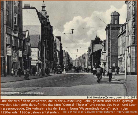 Hafenstraße in Lehe