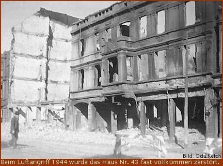 1944 Haus Georgstraße 43 in Geestemünde