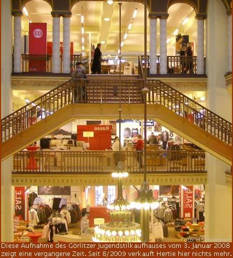 Jugendstilkaufhaus Görlitz