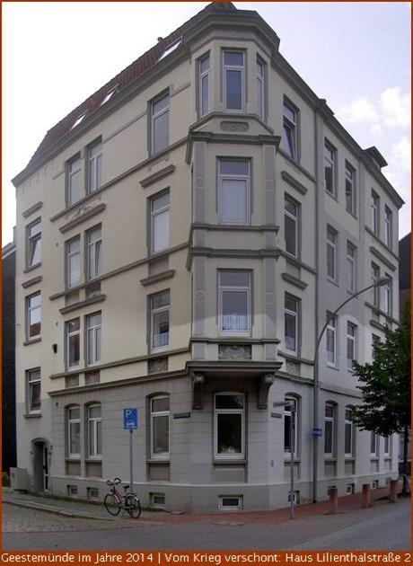 Lilienthalstrasse 2 im Jahre 2014