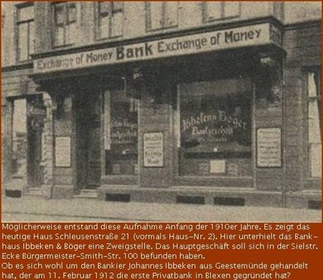 Bankhaus Ibbeken & Böger, Bremerhaven