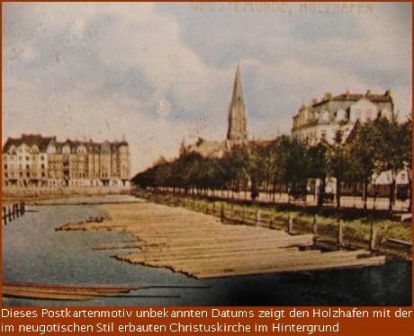 Geestemünde in alten und neuen Ansichten   Holzhafen