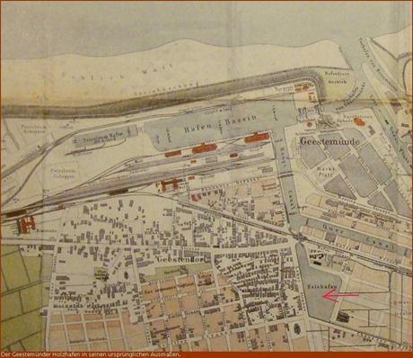 Karte Holzhafen alt