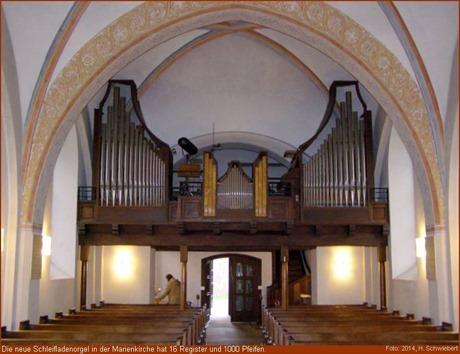 Orgel Marienkirche Geestemünde
