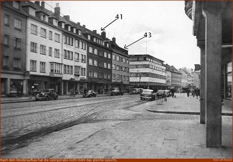 veränderte Georgstraße