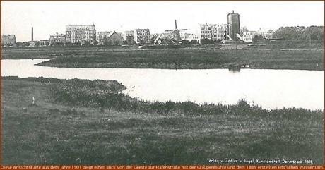 Blick von der Geeste Richtung Hafenstraße (1901)