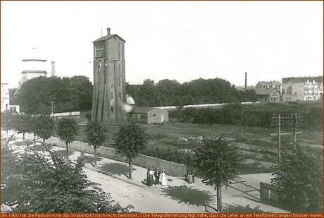 Wassertürme (Schwoon hinten, Eits vorn, 1900)
