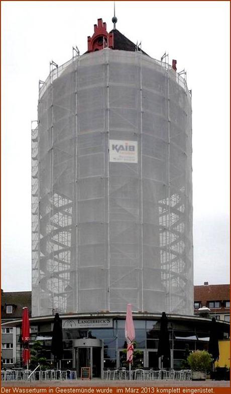 2013 - Wasserturm Geestemünde
