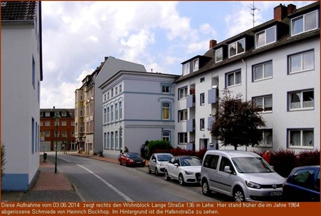 Mietwohnblock in Lehe, Lange Strasse 136