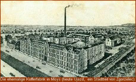Kofferfabrik in Moys