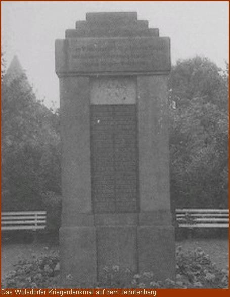 Kriegerdenkmal auf dem Jedutenberg