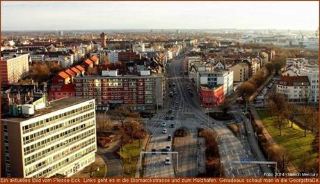 Plesse-Eck und Bismarckstraße