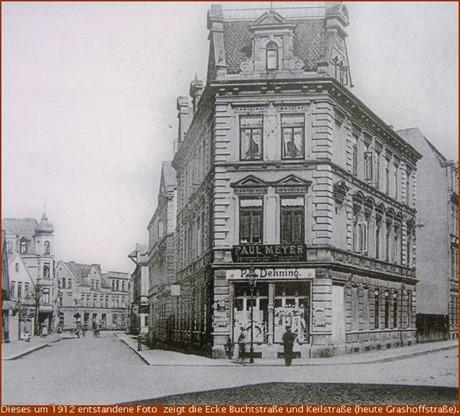 1912 Buchtstrasse Ecke Keilstrasse