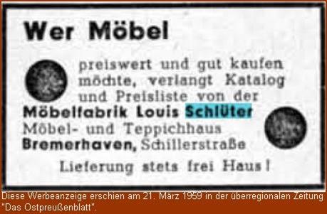 Möbelfabrik Schlüter