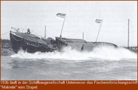 Schiffbaugesellschaft Unterweser im Jahre 1936