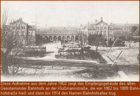 1902 Bahnhof Geestemünde