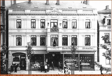 1904 Georgstraße 43 in Geestemünde