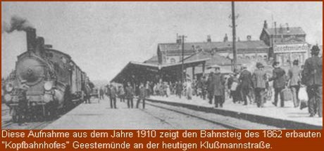 1910 Bahnhof Geestemünde