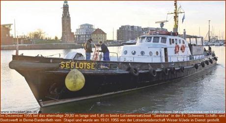 "ehemalige Lotsenversetzboot ""Seelotse"""