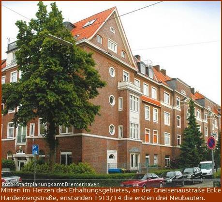 Erhaltungsgebiet Bremerhaven Gneisenaustrasse