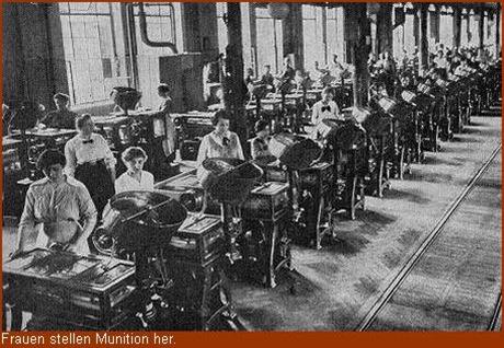 Frauen in der Rüstungsindustrie