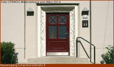 Hauseingang Scharnhorststr. 9