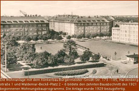 Klinkerbau Bremerhaven Waldemar-Becke-Platz 2 - 6