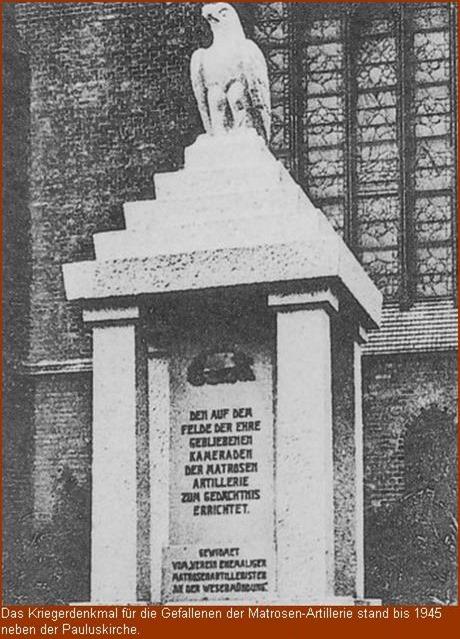 Kriegerdenkmal der Matrosen-Artillerie