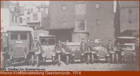 Marine-Kraftfahrabteilung Geestemünde 1914