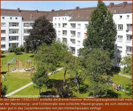 Putzbauten im Bremerhavener Erhaltungsgebiet