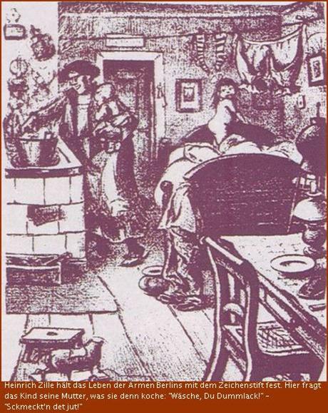 Zeichnung von Heinrich Zille