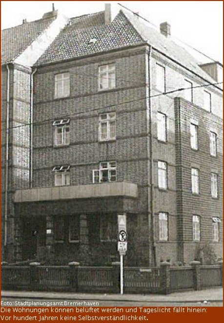 Gneisenaustraße Nr. 2 im Bremerhavener Scharnhorstquartier