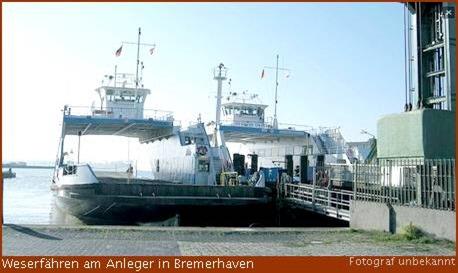 Weserfaehren in bremerhaven