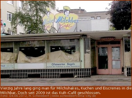 Milchbar in der Lloydstraße von Bremerhaven