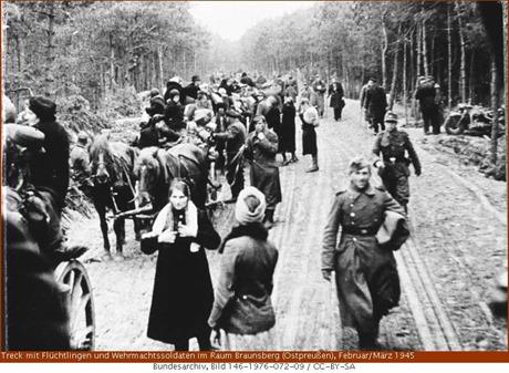 Ostpreußen auf der Flucht