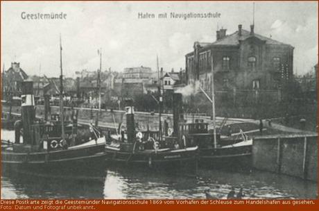 Der Club der Navigationsschüler von 1886