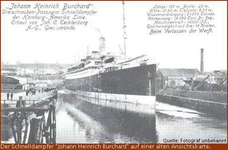Schnelldampfer Johann Heinrich Burchard