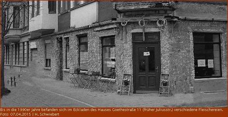 Eckladen Goethestraße