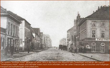 1864 Beermanns-Hotel, heute Nordsee-Hotel