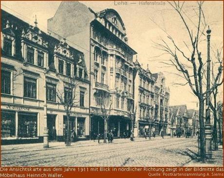 1911 Postkarte Hafenstrasse
