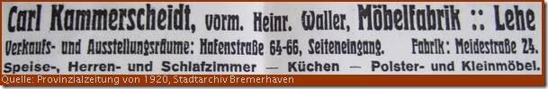 1920 Kammerscheidt
